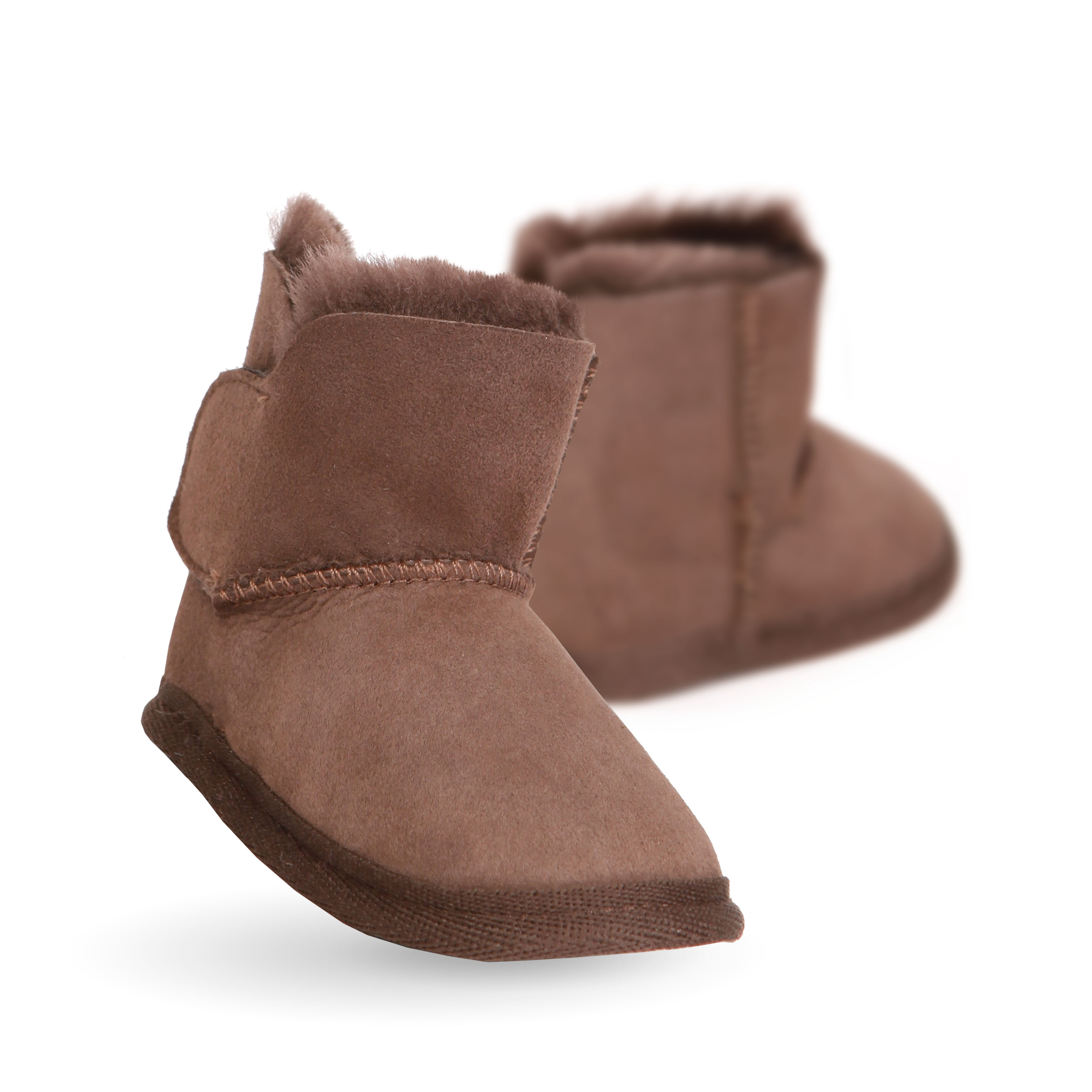 Emu Baby Booties Baby Footwear NZ Baby Shoes Bobux Pretty Brave