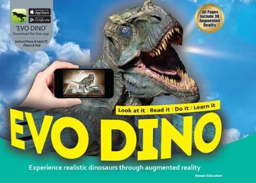 Alzzam Education Evo Dino Book + App - Play-Books : Rockies - Alzzam