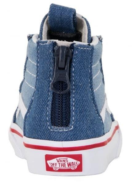 8e3a4333b9 Vans Sk8-Hi Zip Boot - Toddler - Footwear-Toddler   Rockies - Vans ...
