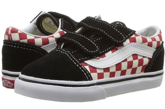 593f726129 Vans Old Skool V Checkerboard Shoe - Toddler - Vans - Vans Kids ...