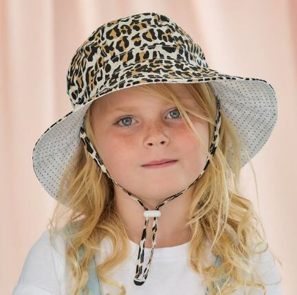 Acorn Leopard Floppy Hat - Baby Accessories-Hats   Rockies - Acorn ... a5317047f1b7