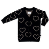 Huxbaby Heart Knit Cardigan-girls-Rockies