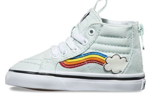 1e7fc98a2c05 Vans Sk8-Hi Zip Rainbow Boot - Toddler - Vans - Vans Kids
