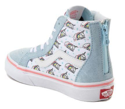 1410979444 Vans Sk8-Hi Zip Unicorn Boot - Vans - Vans Kids