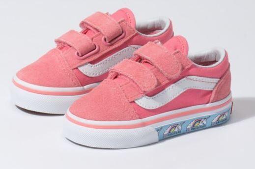 a3a13266c5 Vans Old Skool V Unicorn Shoe - Toddler - Vans - Vans Kids