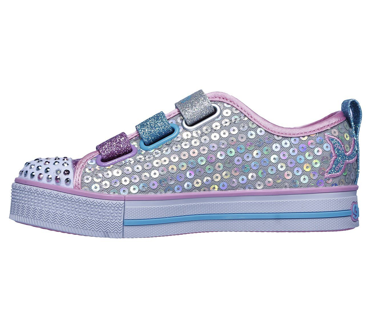 Skechers Twinkle Lite Mermaid Magic Kids Footwear NZ|Girls