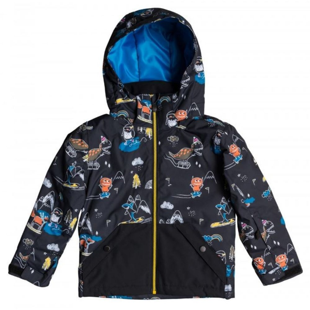 Quiksilver Little Mission Snow Jacket - Boys Snow Wear|Ski Jackets|Pants|Thermals|Goggles|Gloves+Mittens|Socks  - Quiksilver 12741995 W20
