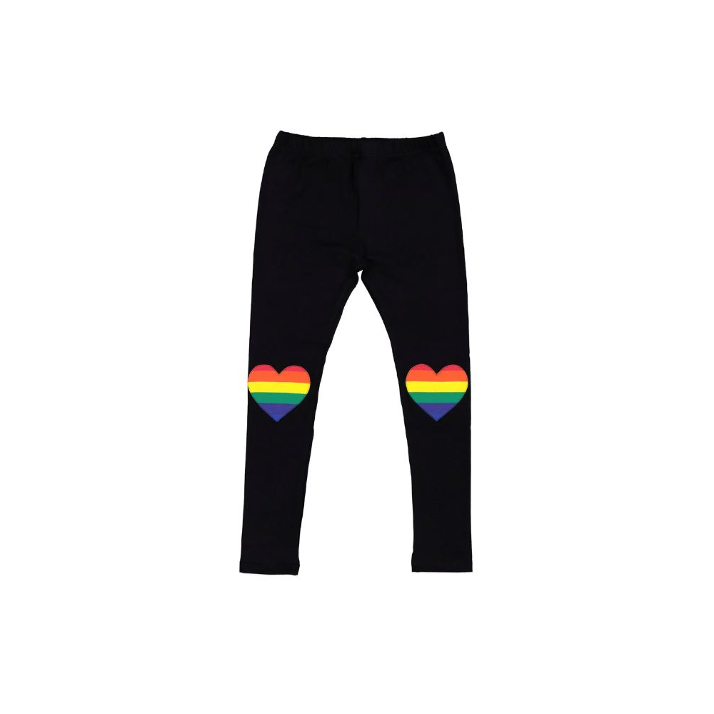 Kissed By Radicool Rainbow Heart Legging